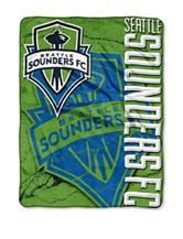 Seattle Sounders Raschel Throw