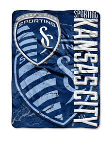 Kansas City Sporting Raschel Throw