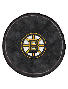 Boston Bruins Puck-Shaped 3D Plush Pillow