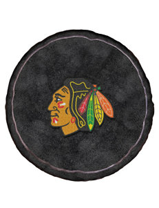 Chicago Blackhawks Puck-Shaped 3D Plush Pillow