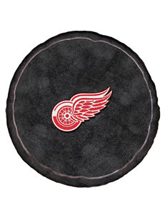 Detroit Red Wings Puck-Shaped 3D Plush Pillow
