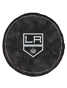 Los Angeles Kings Puck-Shaped 3D Plush Pillow