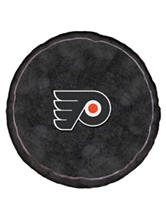 Philadelphia Flyers Puck-Shaped 3D Plush Pillow