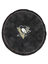 Pittsburg Penguins Puck-Shaped 3D Plush Pillow