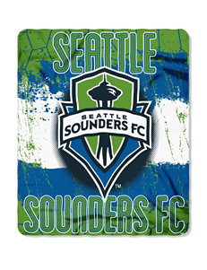 Seattle Sounders Fleece Throw