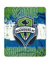 Seattle Sounders Fleece Throw
