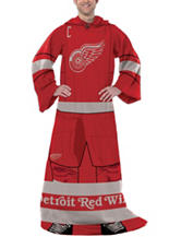 Detroit Red Wings Uniform Comfy Throw