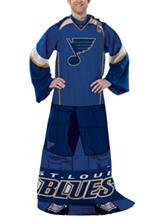 St. Louis Blues Uniform Comfy Throw
