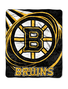 Boston Bruins Sherpa Puck Throw