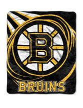 Boston Bruins Sherpa Puck Throw