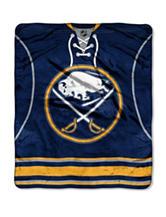 Buffalo Sabres Jersey Raschel Throw