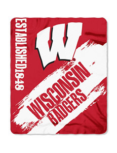 Wisconsin Badgers Fleece Throw