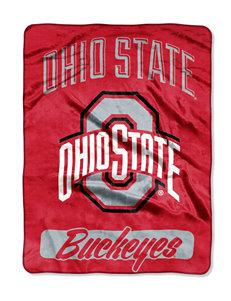 Ohio State University Varsity Raschel Throw