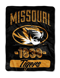 University of Missouri Varsity Raschel Throw