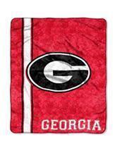 Georgia Bulldogs Sherpa Throw