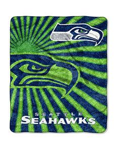 Seattle Seahawks Strobe Sherpa Throw