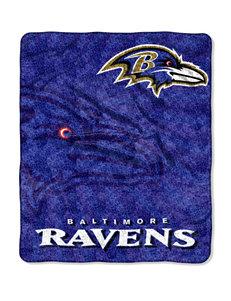 Baltimore Ravens Strobe Sherpa Throw