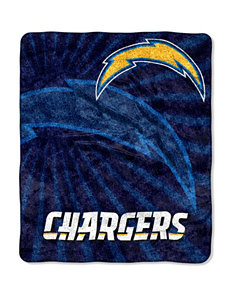 Los Angeles Chargers Strobe Sherpa Throw
