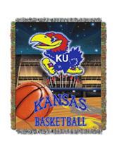 University of Kansas Home Field Advantage Woven Tapestry Throw