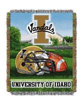 University of Idaho Home Field Advantage Woven Tapestry Throw