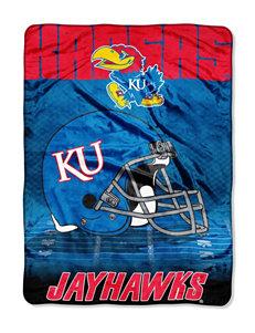 University of Kansas Overtime Raschel Throw