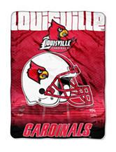 University of Louisville Overtime Raschel Throw