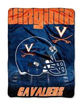 University of Virginia Overtime Raschel Throw