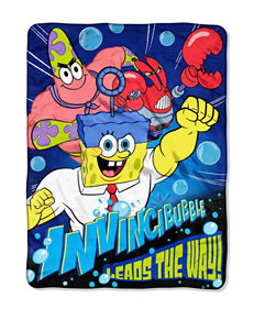 SpongeBob the Movie Lead the Way Micro Raschel Throw