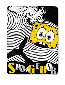 SpongeBob at Sea Micro Raschel Throw