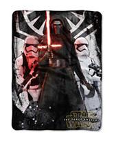 Star Wars Episode 7 First Order Micro Raschel Throw
