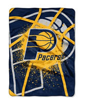 Indiana Pacers Shadow Play Super Plush Raschel Throw