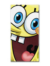 Spongebob Big Smile Beach Towel