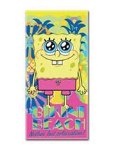 Spongebob Colada Beach Towel