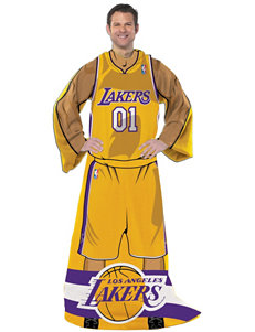 Los Angeles Lakers Uniform Comfy Throw