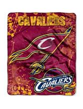 Cleveland Cavaliers Super Plush Raschel Throw