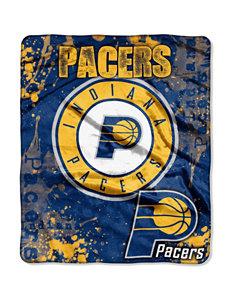Indiana Pacers Super Plush Raschel Throw