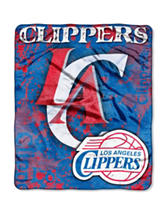 Los Angeles Clippers Super Plush Raschel Throw