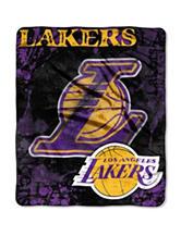 Los Angeles Lakers Super Plush Raschel Throw