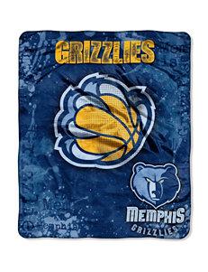 Memphis Grizzlies Super Plush Raschel Throw