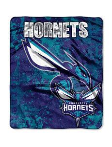 Charlotte Hornets Super Plush Raschel Throw