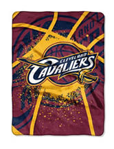 Cleveland Cavaliers Shadow Play Super Plush Raschel Throw