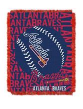 Atlanta Braves Woven Jacquard Throw