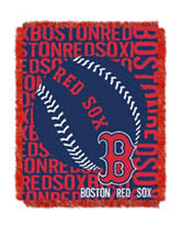 Boston Red Sox Woven Jacquard Throw