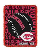 Cincinnati Reds Woven Jacquard Throw