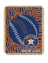 Houston Astros Woven Jacquard Throw