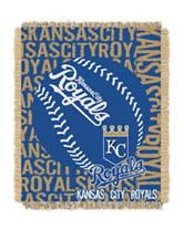 Kansas City Royals Woven Jacquard Throw