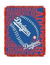 Los Angeles Dodgers Woven Jacquard Throw