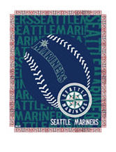 Seattle Mariners Woven Jacquard Throw