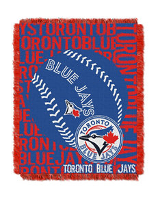 Toronto Blue Jays Woven Jacquard Throw