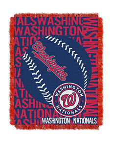 Washington Nationals Woven Jacquard Throw